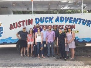 Board Retreat Duck Tour